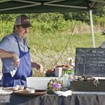 Chef Beau Vestal's Outstanding in the Field Dinner at Westport Rivers Vineyard and Winery