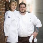 Chefs Kate and Matt Jennings of Farmstead & La Laiterie in Providence