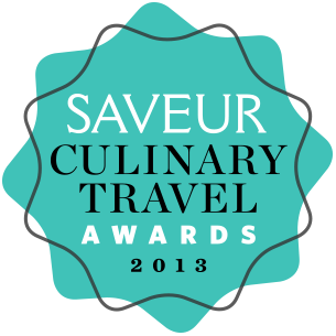 Saveur Culinary Travel Awards 2013
