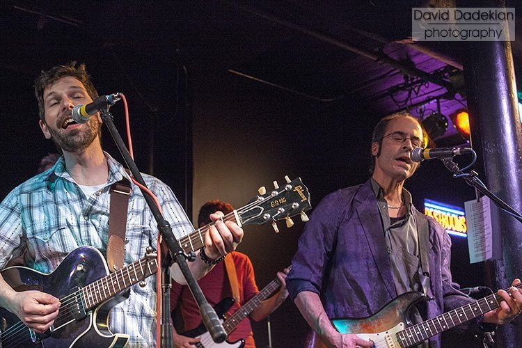 Chez Pascal's Brian Gibney and Mark Riendeau on guitars and vocals