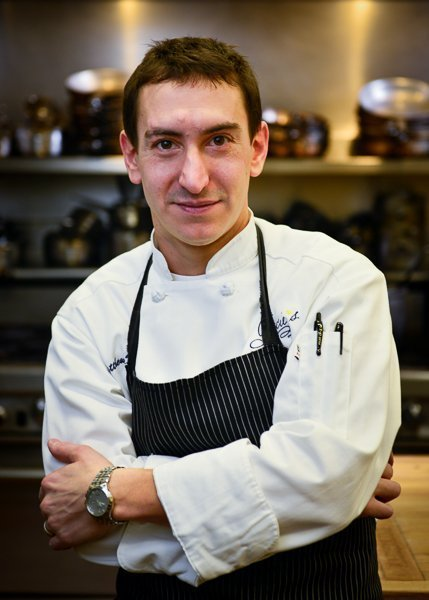 Chef Matthew Varga of Gracie's, photo by Jason Wessel