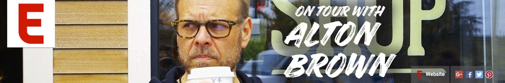 Alton Brown: On Tour — An Eater Series