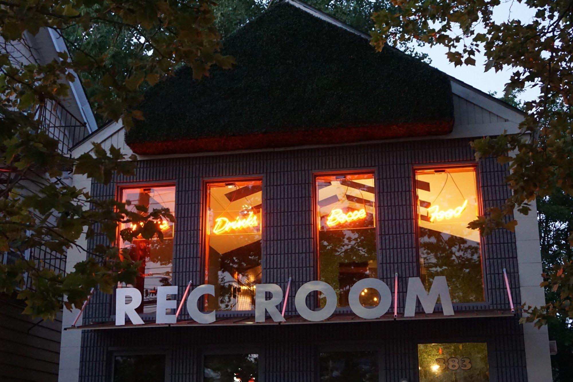 Rec Room PVD Exterior