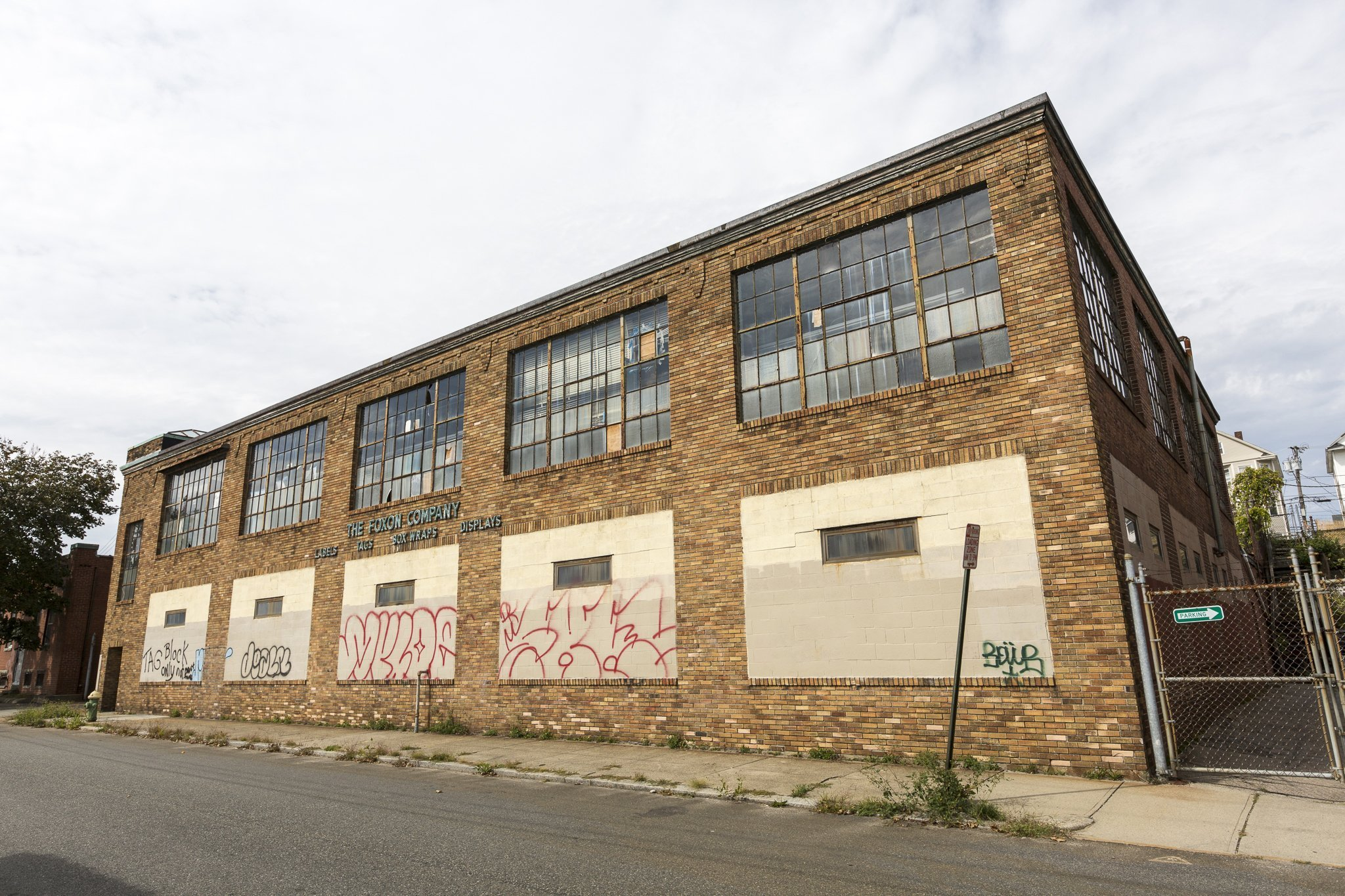 Exterior of 235 West Park St., future home of the West Park Food Hall