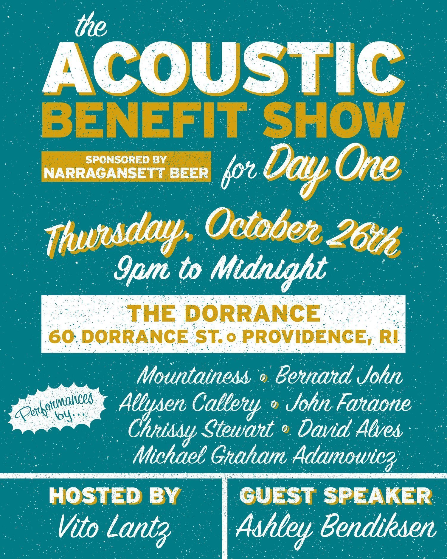 Acoustic Benefit Show for Day One