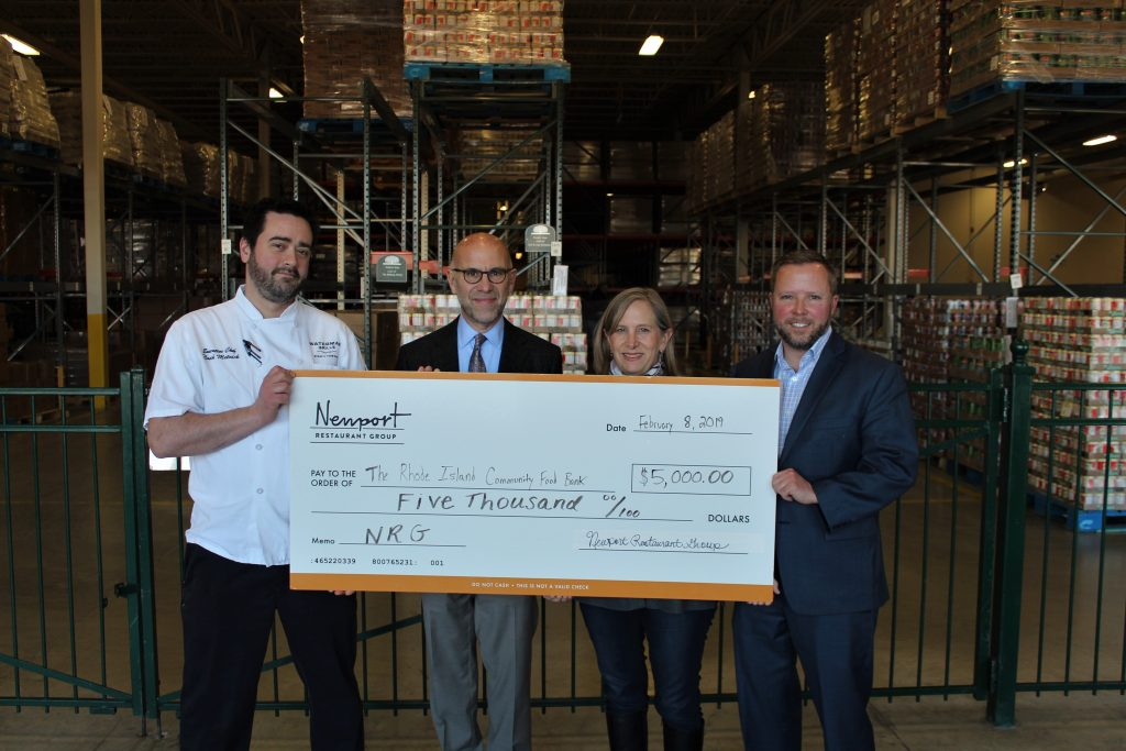 News Bites: Newport Restaurant Group Donates to RI Community Food Bank / LaForge Casino Wins Newport Burger Bender 2019 / World's Fair Pop-Up