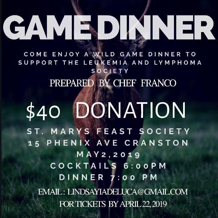 Game Dinner