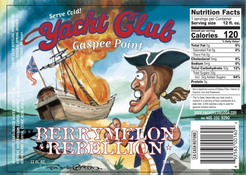 "Yacht Club Bottling Works Creates Their First Seasonal Limited Release ""Berrymelon Rebellion"""