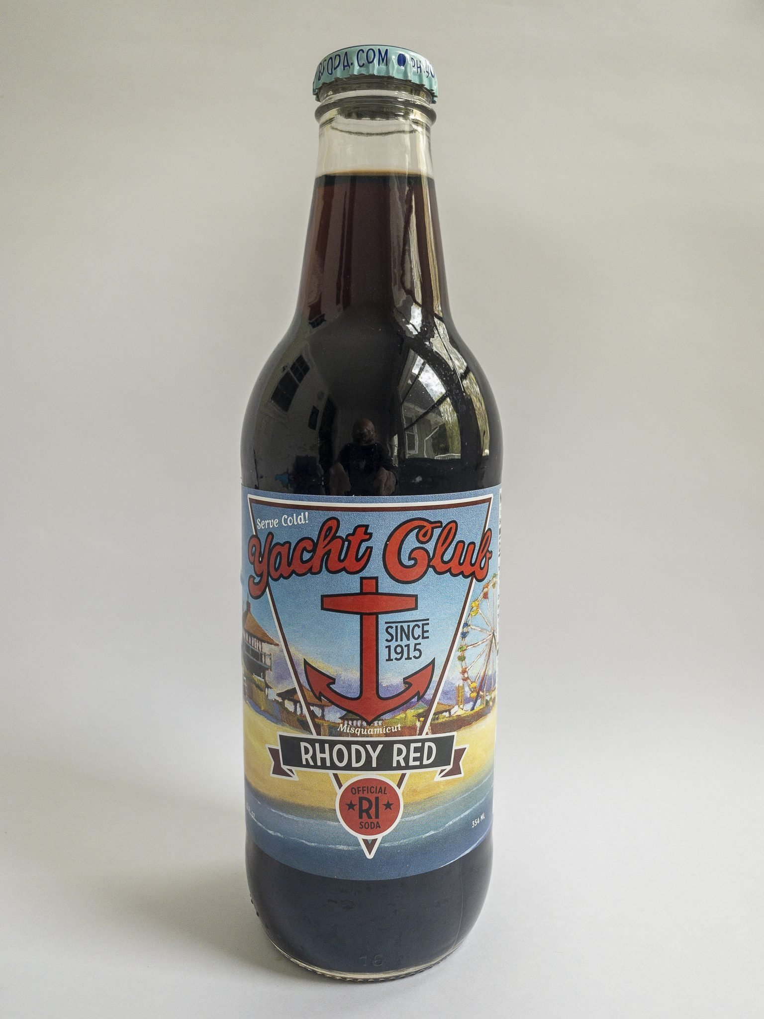Yacht Club Bottling Works Rhody Red bottled