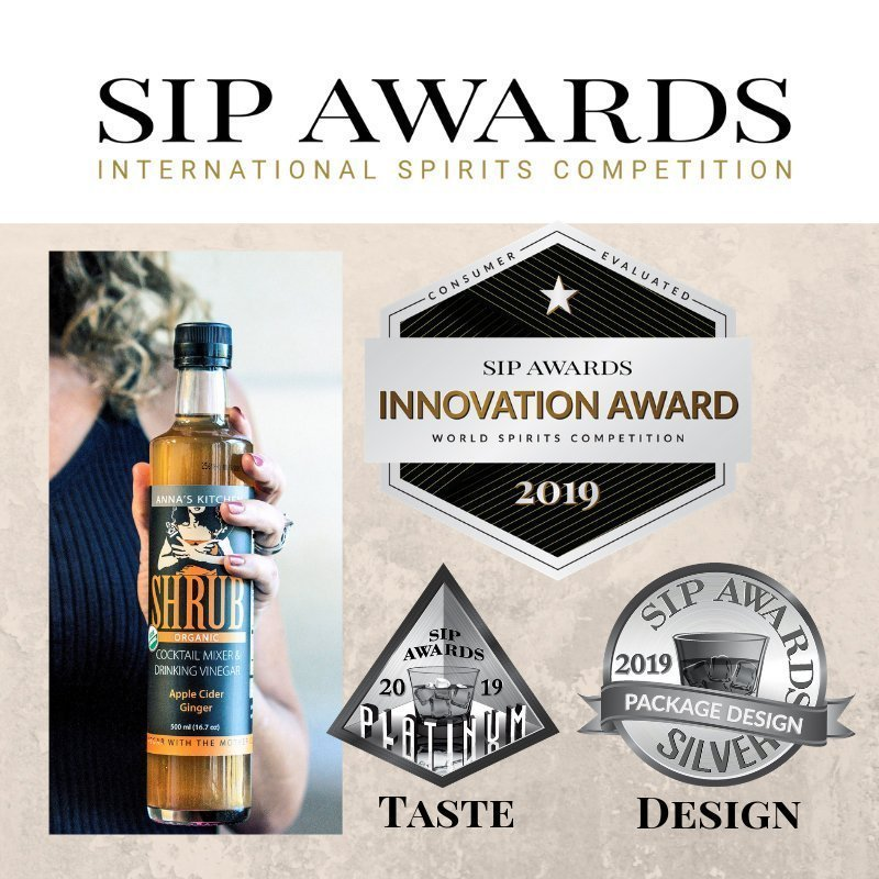 Anna's Kitchen Shrubs International SIP Awards Competition