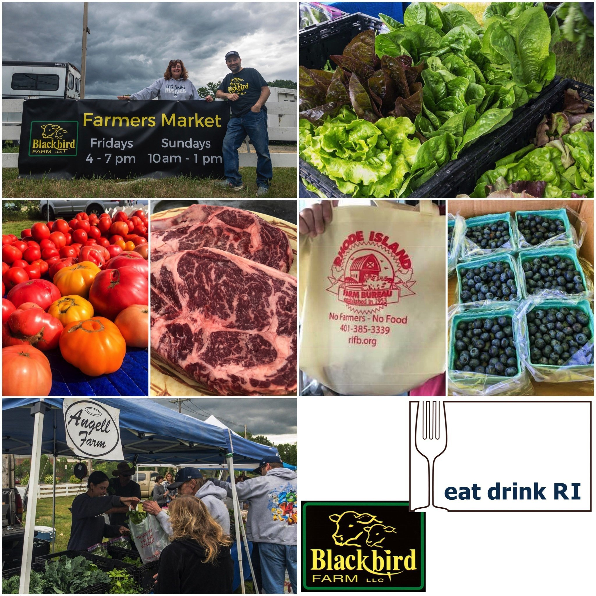 Eat Drink RI Friday Farmers Market at Blackbird Farm